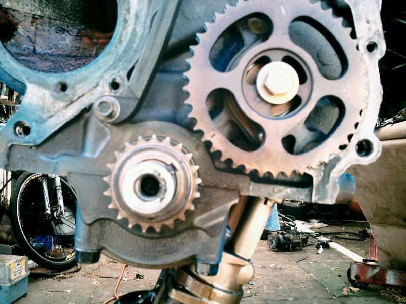 Index Php Displaypic El Ghia Fengine F on Ford 4 6 Timing Chain Marks