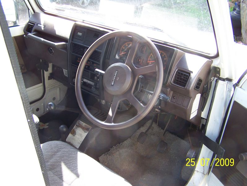 Drivers side dash